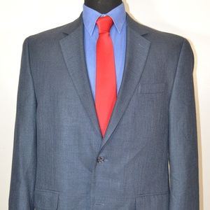 Andrew Fezza 44R Sport Coat Blazer Suit Jacket
